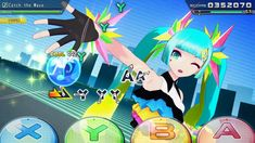 Hatsune Miku: Project DIVA Mega Mix can already be played with regular button controls or motion controls, but an upcoming patch will also add touch play.