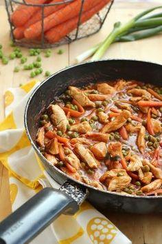 Juditka konyhája: ~ TAVASZI PULYKARAGU , METÉLTTEL ~ Hungarian Recipes, Hungarian Food, No Cook Meals, Japchae, Paella, Meat Recipes, Cooking, Ethnic Recipes, Recipes