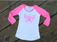 Free Pink Ribbon Silhouette Design and Cut File (Breast Cancer Awareness)