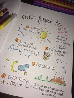 Doodle Ideas To try In Your Bullet Journal/ Decorate your Bujo with these doodles. From cute cactus doodles, to sea life, to cute little food. Dress up your Bullet Journal! Self Care Bullet Journal, Bullet Journal 2019, Bullet Journal Notebook, Bullet Journal Aesthetic, Bullet Journal Themes, Bullet Journal Health, Mental Health Journal, Bullet Journal For School, Bullet Journal How To Start A Layout