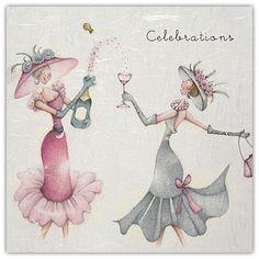Celebrations Berni Parker Designs Card  £2.75 - FREE Postage!