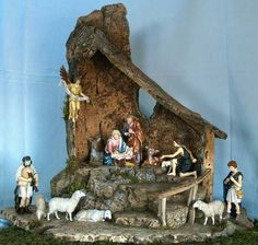 1 million+ Stunning Free Images to Use Anywhere Christmas Grotto Ideas, Christmas Crib Ideas, White Christmas Trees, Christmas Crafts For Kids, Christmas Holidays, Christmas Decorations, Christmas Village Houses, Christmas Nativity Scene, Nativity Stable