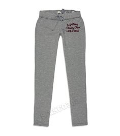 $24 Abercrombie & Fitch Sweatpants Skinny Fit Joggers Gray