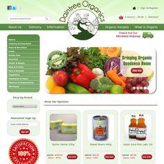 Daintree Organics : Custom Zen Cart Design, Ecommerce Web Design, Zen Cart Templates, by Picaflor Azul