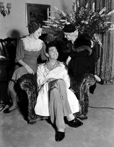 Todays vintage hair inspiration Mary Astor & Jean Harlow, with the added bonus of Clark Gable