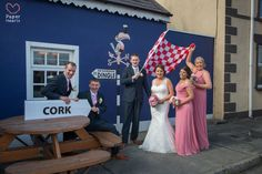 Pub in Firies Co Kerry, Cork Groom and Kerry Bride {Paper Hearts Wedding Photography}