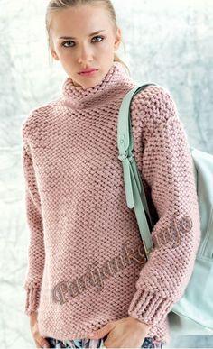 Пуловер (ж) 08*125 Phildar №4898