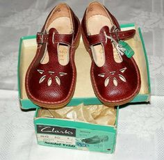 Clarks sandals.... A majority of primary school years were spent wearing these!