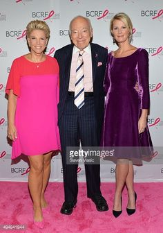 News Photo : Journalist Joan Lunden, Leonard Lauder and chef...