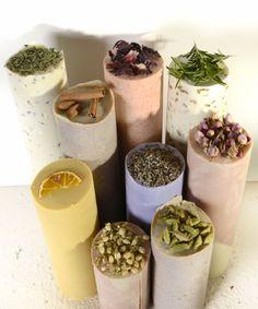 Pillar soaps, lavender, almond, rose, pink clay, thyme, orange..by zeytunesabun.com