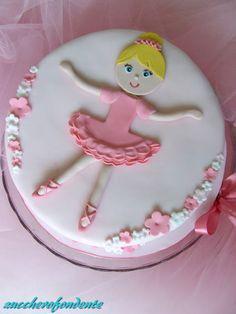 dancer cake www.zuccherofondente.blogspot.it
