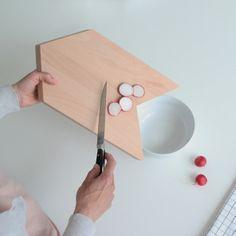 A smart cutting board.