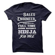 Ninja Sales Engineer T-Shirt T Shirt, Hoodie, Sweatshirt