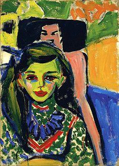 Ernst Ludwig Kirchner | 1880-1938, Germany | 1910