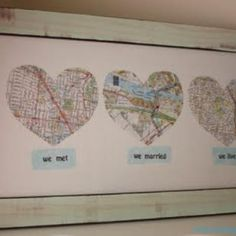 We met, we married, we live... wall-art-ideas