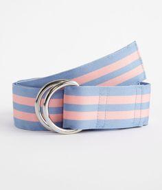 Men's Belts: Harbor Stripe Grosgrain Belt Preppy Mens Fashion, Men's Fashion, D Ring Belt, Textile Texture, Cool Suits, Grosgrain Ribbon, Gq, Print Patterns, Man Shop