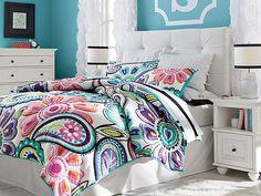 I love the PBteen Velvet Kennedy Bedroom on pbteen.com