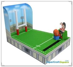 Rugby Goal Kick Game PaperCraftSquare. Lots more on this site, in different categories