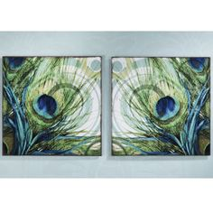 Set of Two Plume Prints - Furniture, Home Decor and Home Furnishings, Home Accessories and Gifts | Expressions