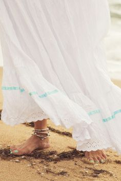 Summer Gypsy  Petticoat, $129 AUD.  Soft, airy and angelic vintage-inspired skirt.