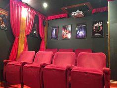 Homebuild movie theater