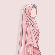 contoh karakter kartun hijab yang unik dan menarik - my ely Anime Muslim, Muslim Hijab, Cartoon Kunst, Cartoon Art, Muslim Images, Hijab Drawing, Islamic Cartoon, Hijab Cartoon, Islamic Girl