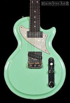 Fano SP6 Res-O-Surf Guitar - Surf Green | Humbucker Music