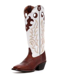"""Tony Lama Women's Beige Mustang 16"""" Boot  http://www.countryoutfitter.com/products/24959-beige-mustang-16-boot-womens #westernboots"""