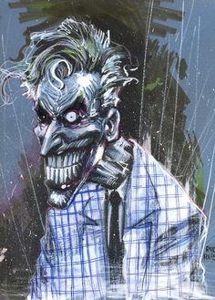 "Joker sketch by Rod Reis ""Awesome!!!"""
