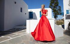 Tarik Ediz Spring Dresses Inspired By Mykonos Cheap Formal Dresses Long, Cheap Evening Dresses, Evening Gowns, Strapless Dress Formal, Prom Dresses 2017, Bridal Dresses, Mykonos, Ibiza, Best Designer Dresses