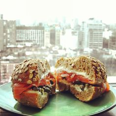 Oh god, yes! Get a bagel with Nova salmon in it! Ess-a-Bagel bagel sandwiches. 831 3rd ave NY NY 359 1st ave NY NY. Best bagel shop