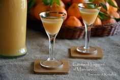 Mandarin Liqueur Cream Iris or Giaggiolo V8 Juice, Recipe R, Beautiful Fruits, Wine And Liquor, Healthy Dishes, Dinner Dishes, Food Videos, Cocktails, Drinks