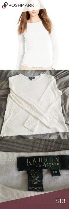 Ralph Lauren Petite Women's Long Sleeved Top ⚡️Ralph Lauren Petite Women's Shirt.                 ⚡️Great Condition Lauren Ralph Lauren Tops Tees - Long Sleeve