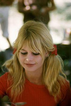 """Brigitte Bardot on the set of """"Viva Maria"""", 1965"""