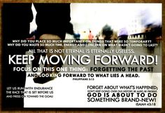"""Isaiah 43:18 """"But forget all that— it is nothing compared to what I am going to do.  See, I have already begun! Do you not see it? I will make a pathway through the wilderness. I will create rivers in the dry wasteland. #moveforward #forgetthepast #bible"""