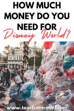 If you are starting to save up for a Disney vacation or just aren't sure exactly how much money you need for your trip, this post is going to answer all of those questions! The answer is not quite so simple, but we are going to share with you everything you need to know so you can budget for your upcoming Disney vacation.