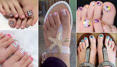 50 σχέδια πεντικιούρ για τέλεια νύχια ποδιών το Καλοκαίρι 2018 Flip Flops, Nail Art, Nails, Women, Fashion, Finger Nails, Moda, Ongles, Fashion Styles