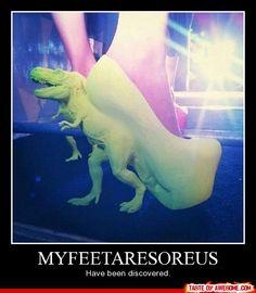 myfeetaresoreus has been discovered @Shaylyn Nicole Kelleher!!! hahahahaha