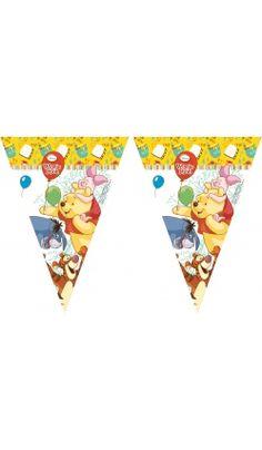 Winnie L'Ourson™ Guirlande de drapeaux - Disney™