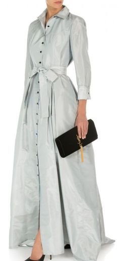 Carolina Herrera Trench Gown