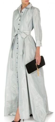 Carolina Herrera Trench Gown