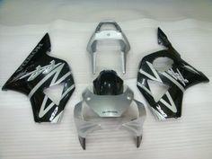 Carenado de ABS de Honda CBR900RR 954 2002-2003 - Plateado/Negro