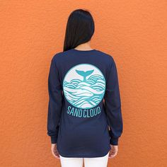 Shop your favorite long sleeve shirts and short sleeve shirts, Our mission is to SAVE Marine Life. Eco Clothing, Christmas 2017, Cloud, Long Sleeve Shirts, Waves, Graphic Sweatshirt, Sweatshirts, Sweaters, Shopping