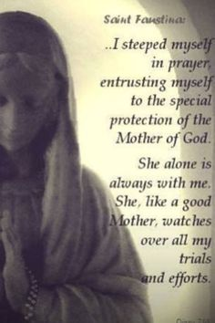 St Faustina, to whom Jesus gave the Divine Mercy Novena to share with the troubled world.