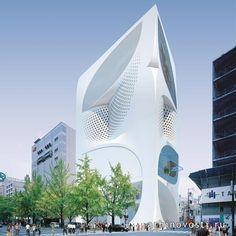 Дом Моды Луи Виттона (Louis Vuitton) в Японии. | Архитектура и дизайн | Архиновости
