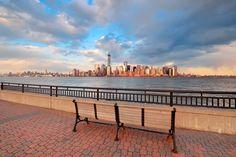 The #Manhattan skyline from #NewJersey.