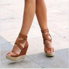 10 Sexy Womens Platform Pump Stiletto High Heels Ankle Boots Sandal Shoes - Casual Summer Shoes - Must Have Footwear Collection. The Best of high heels in Dream Shoes, Crazy Shoes, Me Too Shoes, Hot Shoes, Wedge Shoes, Shoes Heels, Strap Heels, Gold Heels, Ankle Strap