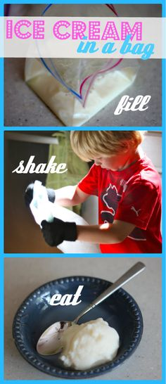 Make Ice Cream in a Bag:  A Most Delicious Science Experiment!