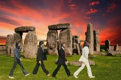 ABBEY ROAD STONEHENGE !!