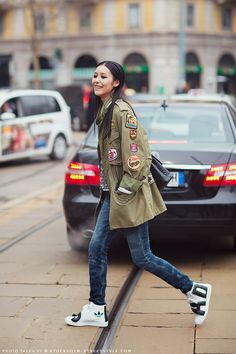 The Abominable Closet: Models Off Duty: Liu Wen's Style
